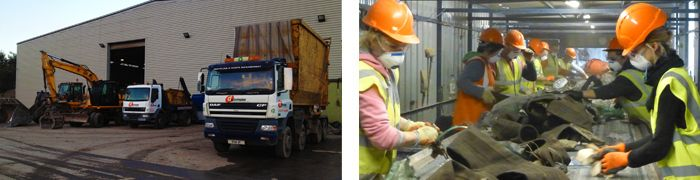 At Dunmow Waste Management, we operate from our Waste Transfer Station and Recycling Centre located in the heart of Essex. Our site is well equipped with three artic-sized weighbridges, which accept a range of non-hazardous and hazardous wastes, as well as the recyclables listed below.  List can be found here: http://www.dunmowwaste.com/services/waste-transfer-station