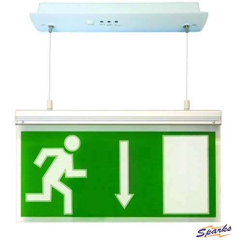 The Running Man on the Emergency Exit Signs: What's his Story?