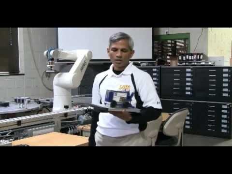 Staubli robots assembling model