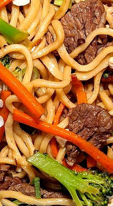 "Beef with Broccoli ""Takeout"" Noodles Recipe"