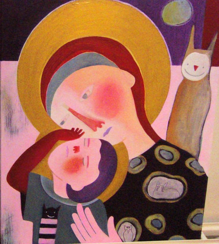 'Mother and child' by Ati van Twillert