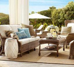 Saybrook All-Weather Wicker Sofa