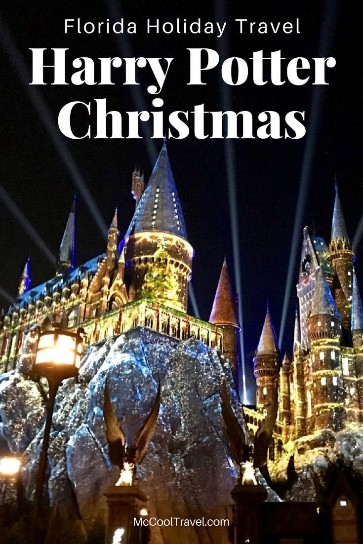 florida holiday us travel harry potter christmas festivities transform the wizarding world at universal orlando resort with holiday decorations music
