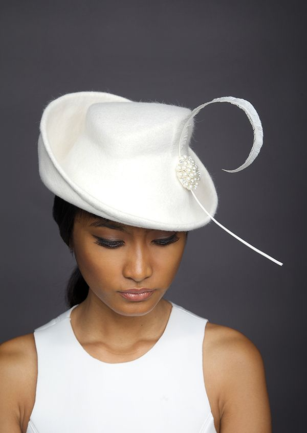 Lock & Co Hatters, Couture Millinery A/W 2014 - Swing.