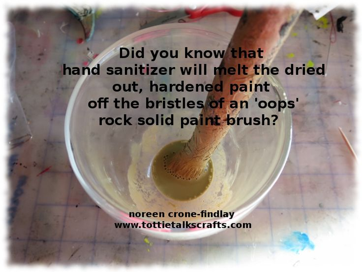 I am embarrassed to say how many times I have had to resort to doing this. Luckily, it works every time on acrylic and latex paints! :) This time it took longer, but it did fix my much loved old w...