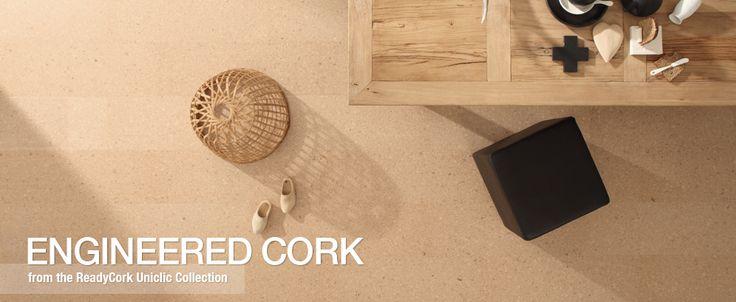 Woo! Found a source for cork floors (Carpet Court, Engineered cork).