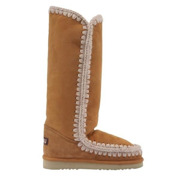 Mou Tall Eskimo Boots Women Cuoio - MOU Christmas Day Deals (299€->224€) AVAILABLE NOW! #christmas #ChristmasSale #christmasdeals