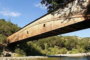 Bridgeport Covered Bridge Nevada County California