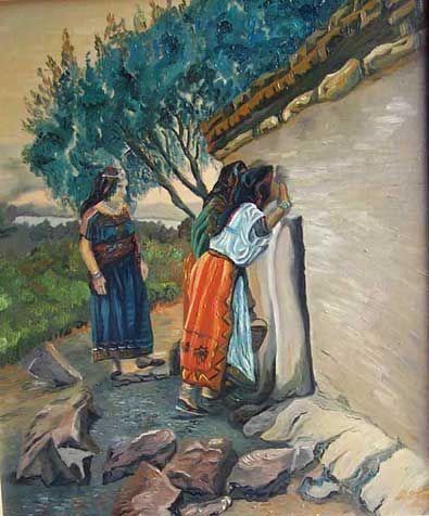 Les peintures de Tahar Abdelkrim
