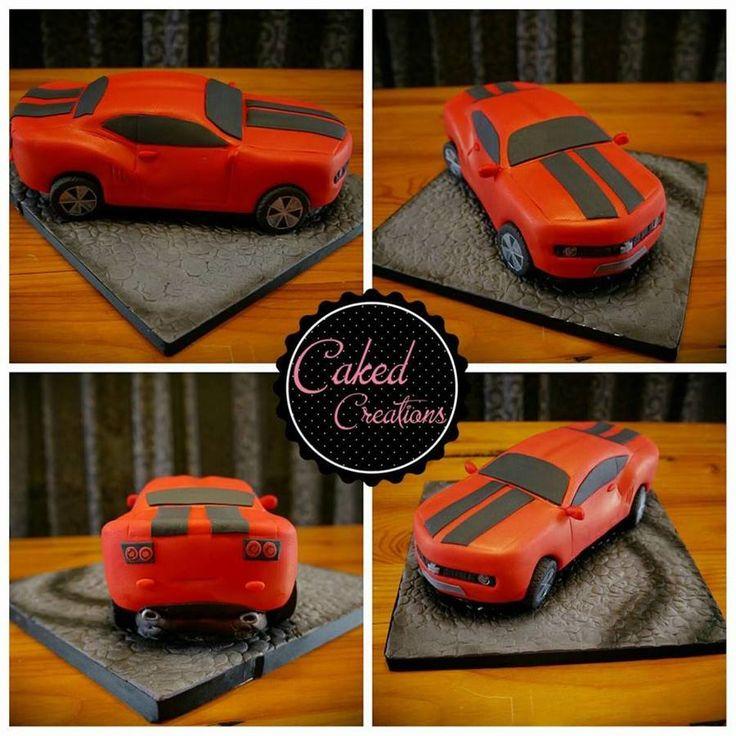 Camaro Car Cake! on Cake Central