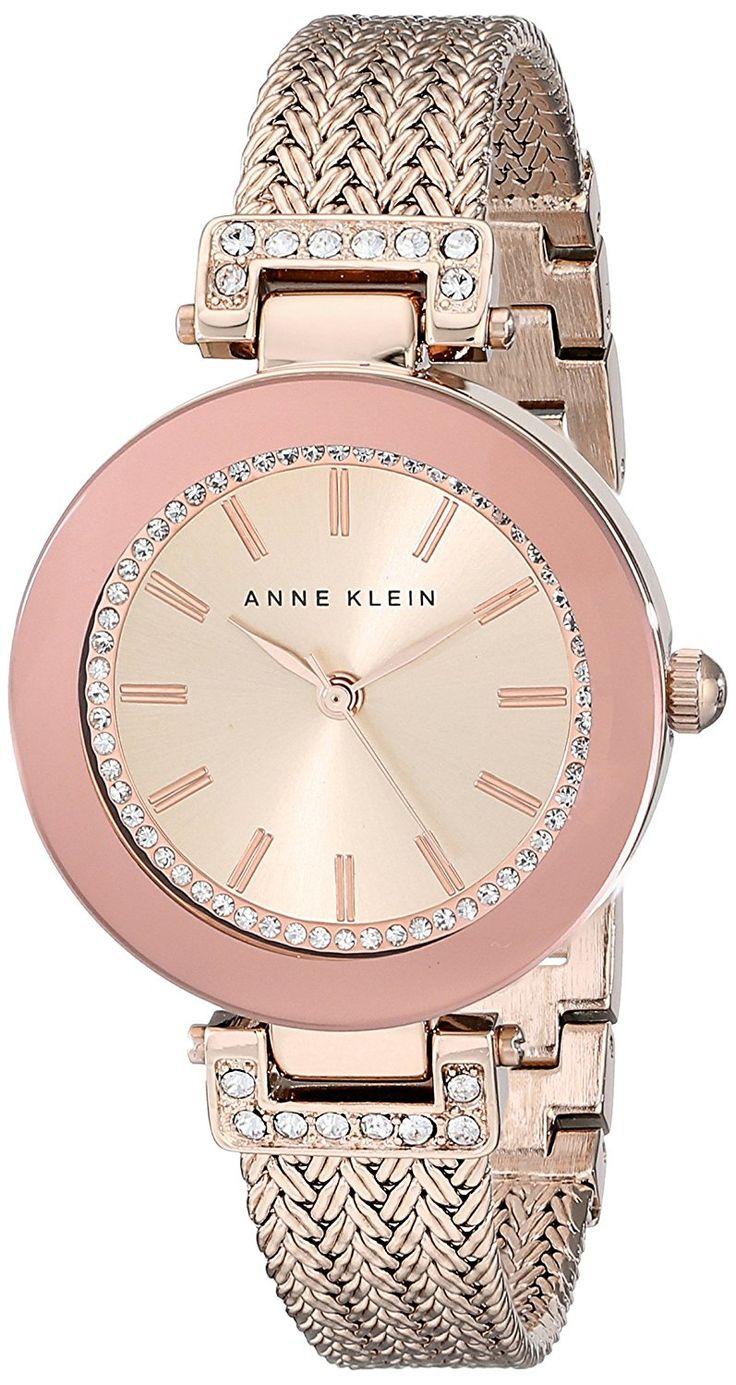 Best 25 anne klein watch ideas on pinterest anne klein bracelet watch and real gold watches for Anne klein swarovski crystals