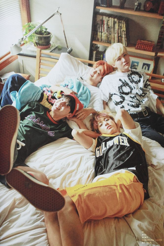 B A N G T A N | Jimin x Suga x J-Hope x Kookie | BTS Now 3 Dreaming Days | Scans by Sam #BTS