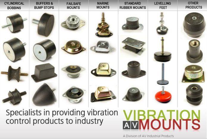 Pin On Vibration Mounts