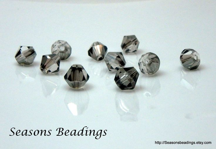 More new beads have been added to my #etsy shop: 50 Grey, Gray 6mm Crystal Bicone Beads - Free Shipping to Canada #supplies #jewelrymaking #crystal #bead #crystalbead http://etsy.me/2AOhc5M
