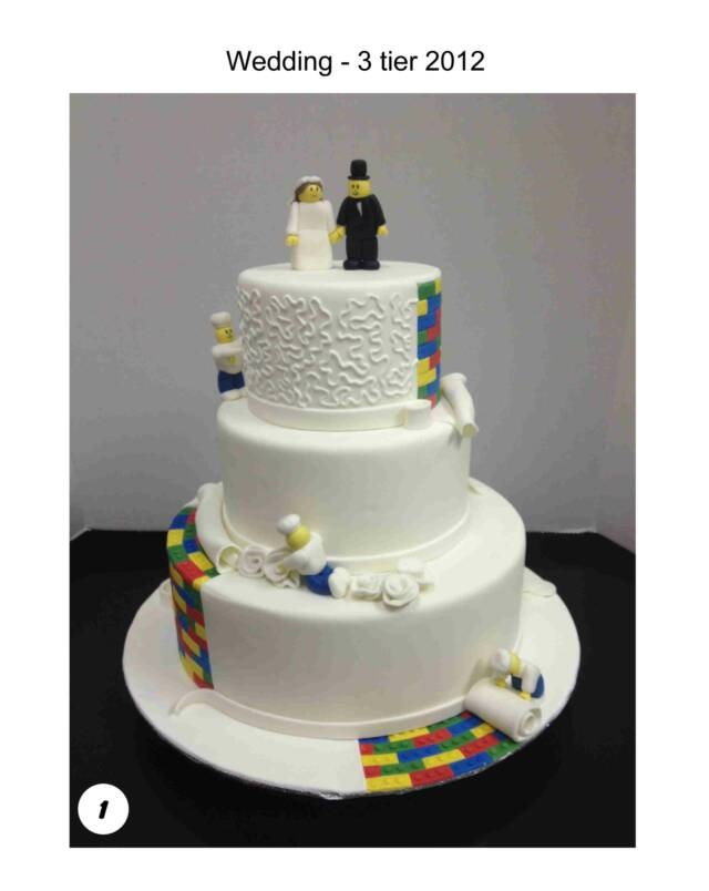 @Patrice Himaya A lego wedding cake! haha matthew would love it