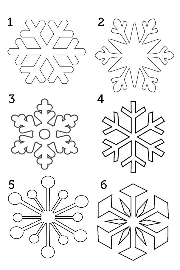 It is a graphic of Clever Free Printable Snowflake Template