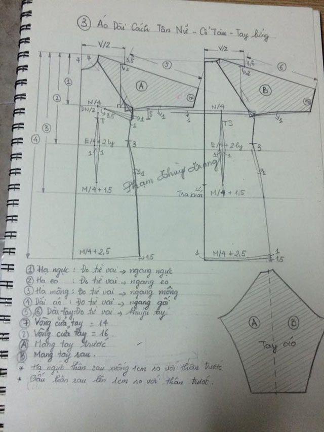 Công thức may áo dài cách tân siêu đơn giản để diện Tết hình ảnh 4