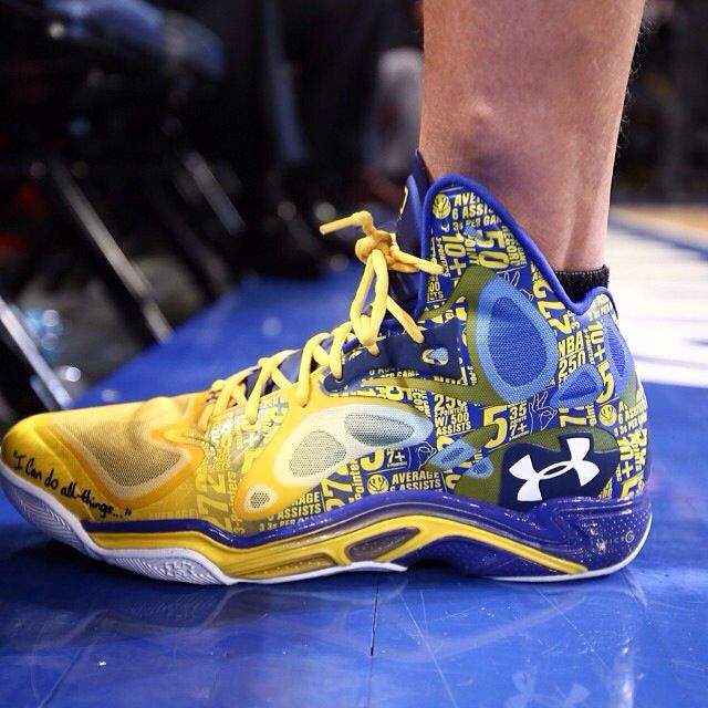 Steph Curry's game shoe | Basketball Shoes | Curry shoes ...