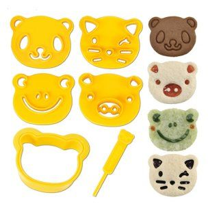 CuteZcute Bento Sandwich Cutter and Pastry Stamp Kit [9.99] - also at Amazon: http://amzn.com/B009DMHRQG
