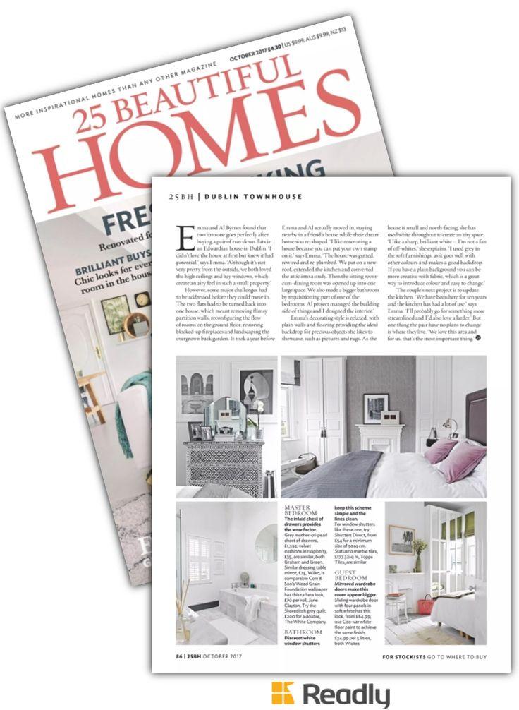 Suggestion about 25 Beautiful Homes Magazine Oct 2017 page 86