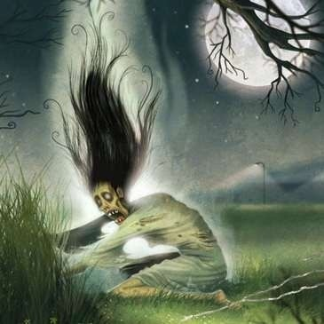 Bean Nighe - The Scottish version of the washer woman at the ford. She always wore green and had webbed feet. She was not always a death portent, and would grant three wishes in certain circumstances #scottish #scotland #folklore