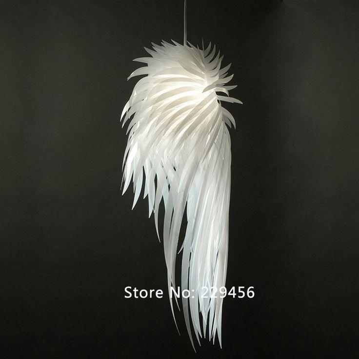 Les 25 meilleures id es de la cat gorie lustre plume sur pinterest plume l - Suspension plume ikea ...