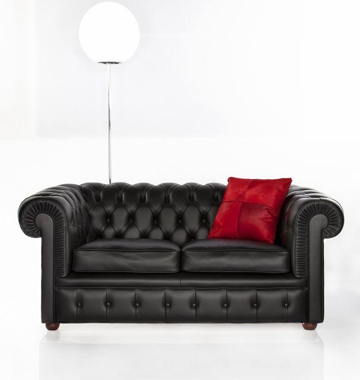 Divano in pelle Chester - Tino Mariani - Il divano Chester è disponibile anche in versione divano-letto a tre posti, due posti e su misura. http://www.tinomariani.it/divani_chester.html