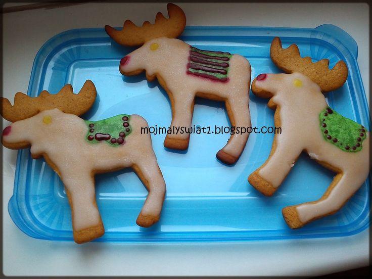 Świąteczne pierniki - renifery i dzwoneczki - Mama-Kreatywna
