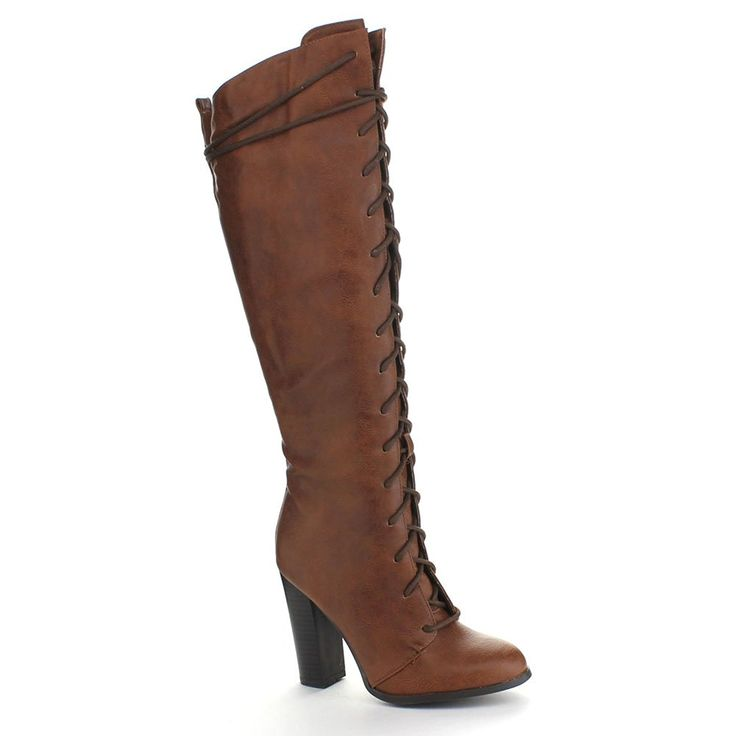 buy for sale Jeep Jeep Fox Heeled Knee High Boots Brown outlet find great buy cheap low shipping shop cheap price xRrJUigG