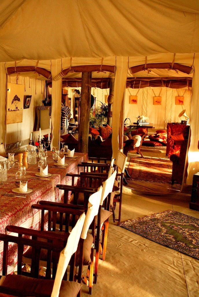 Private luxury at Cottars 1920's Camp