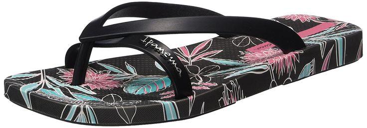 Ipanema Kirey III FEM, Damen Zehentrenner, Mehrfarbig (grey black pink 8439), 37 EU: Amazon.de: Schuhe & Handtaschen
