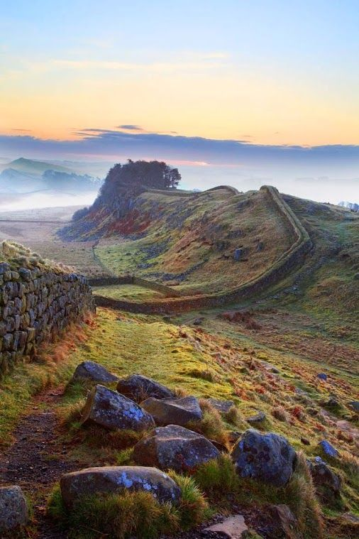 Hadrian's Wall, Northumberland, UK