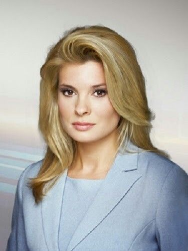 Annie Demelt French Canadian Quebec Based Newscaster