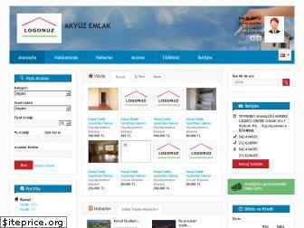 www.akyuzemlak.net website price