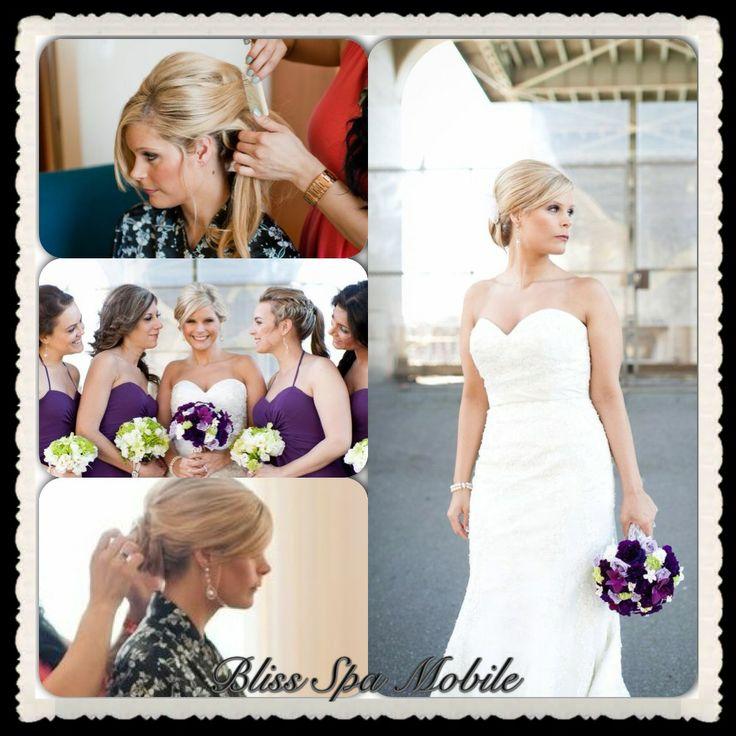Bridal Parties - Hair and Makeup www.signaturemobilespa.com