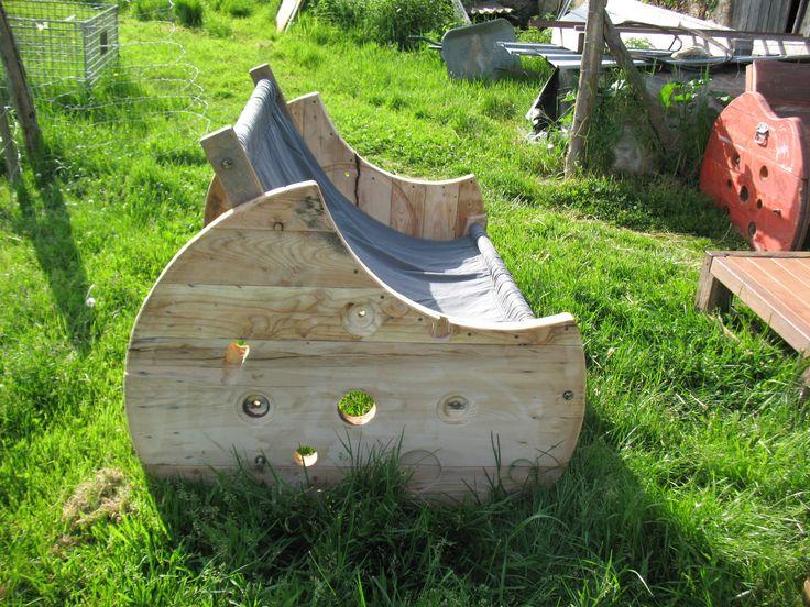 Best 25 touret electrique ideas on pinterest bobine for Chaise longue de jardin bois et toile