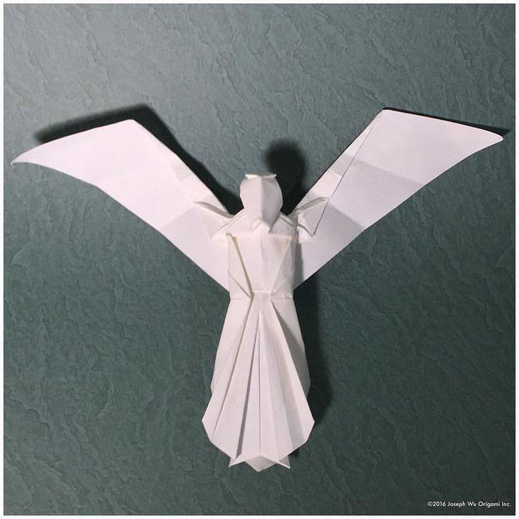 Sketch: Angel. by Joseph Wu Origami