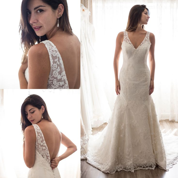 Vestido de novia espalda en v · Wedding dresses mermaid backless