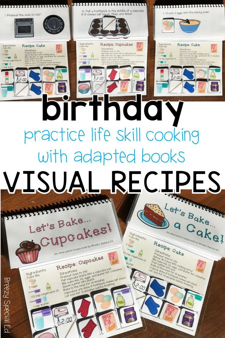 Adapted Books Visual Recipes And Worksheets Quizzes To Help Your Students Improve Their Cooking Skills Pe Visual Recipes Cooking Lessons Interactive Cooking [ 1102 x 735 Pixel ]