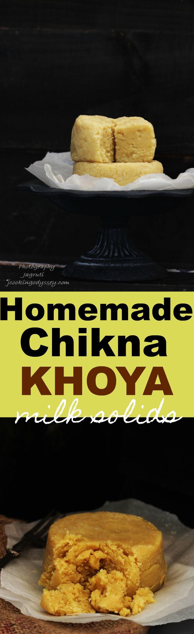 Homemade Chikna Khoya