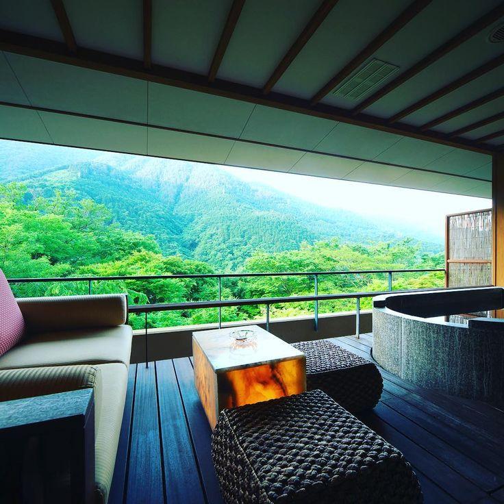 #箱根#箱根吟遊#Hakone#Ginyu#宿#Japan#mountain#パワースポット#吟遊#山#nature#自然#温泉#Hotsprings#sky#絶景#四季#湯#癒し宿#テラス#新緑#紅葉#ツバメ#青空#龍脈 #いい風#resort#resorthotel#luxtry#luxuryhotel#