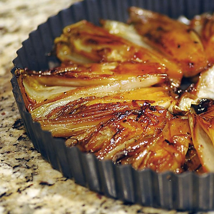 Savoring Time in the Kitchen: Duck Confit and Caramelized Endive Tarte