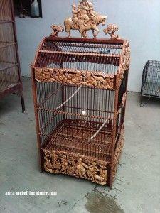Sangkar Burung Ukiran Produk Terbaru merupakan produk furniture sangkar yang telah di tunggu para pecinta furniture khususnya para pecinta burung yang menginginkan sangkar yang berkualitas bagi burung peliharaan, dengan pemilihan sangkar yang baik, jelas mempengaruhi tingkah laku burung peliharaan ketika dalam sangkar tersebut