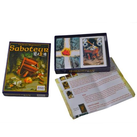Saboteur - Family Board / Card Game