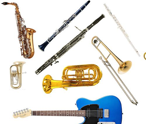 Electric Instruments List : Jazz band instruments list related keywords