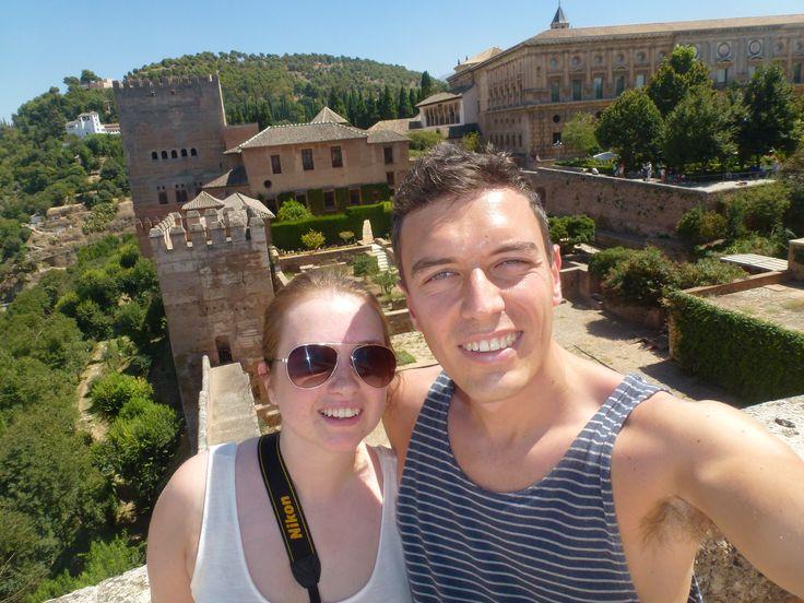 Sarah & Del - Alhambra, Granada