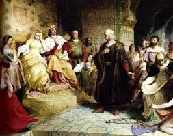 19 – Cristóbal Colón  fue el primero que trazó una ruta de ida y vuelta a un nuevo mundo través del océano Atlántico y dio a conocer la noticia. Este hecho impulsó decisivamente la expansión mundial de la civilización europea, y la conquista y colonización por varias de sus potencias del continente americano.