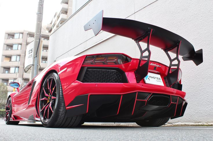 Fastes's Cars new body kit for Aventador from Japan