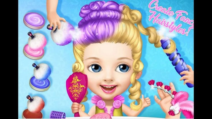 Best Baby Care Kids Game - Pretty Little Princess -  Dress Up, Hair Style & Makeup - Games For Kids