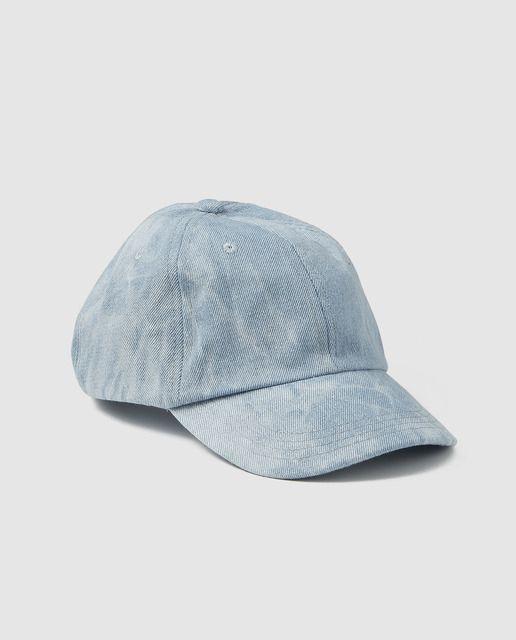 Gorra de niño Brotes en azul denim lavado  7011b572994
